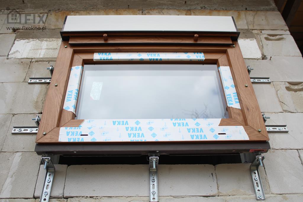 Montaż okien na konsolach Szczecin