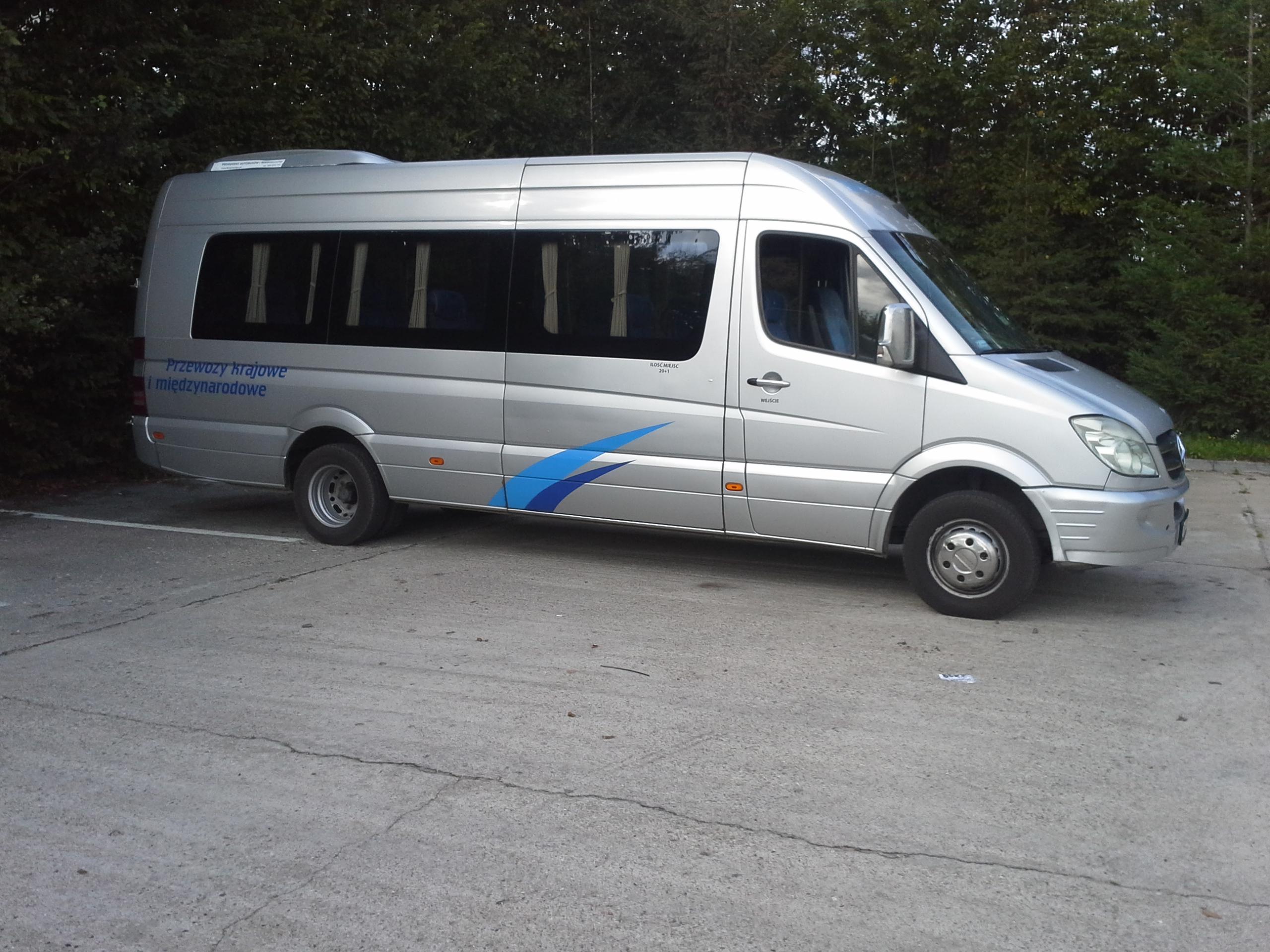autobusy wynajem Piaseczno