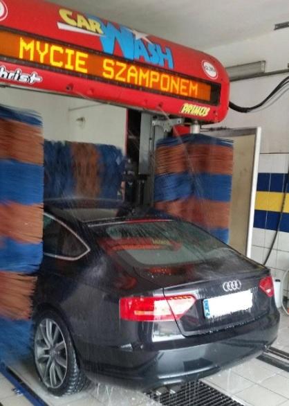 myjnia samochodowa Złocieniec