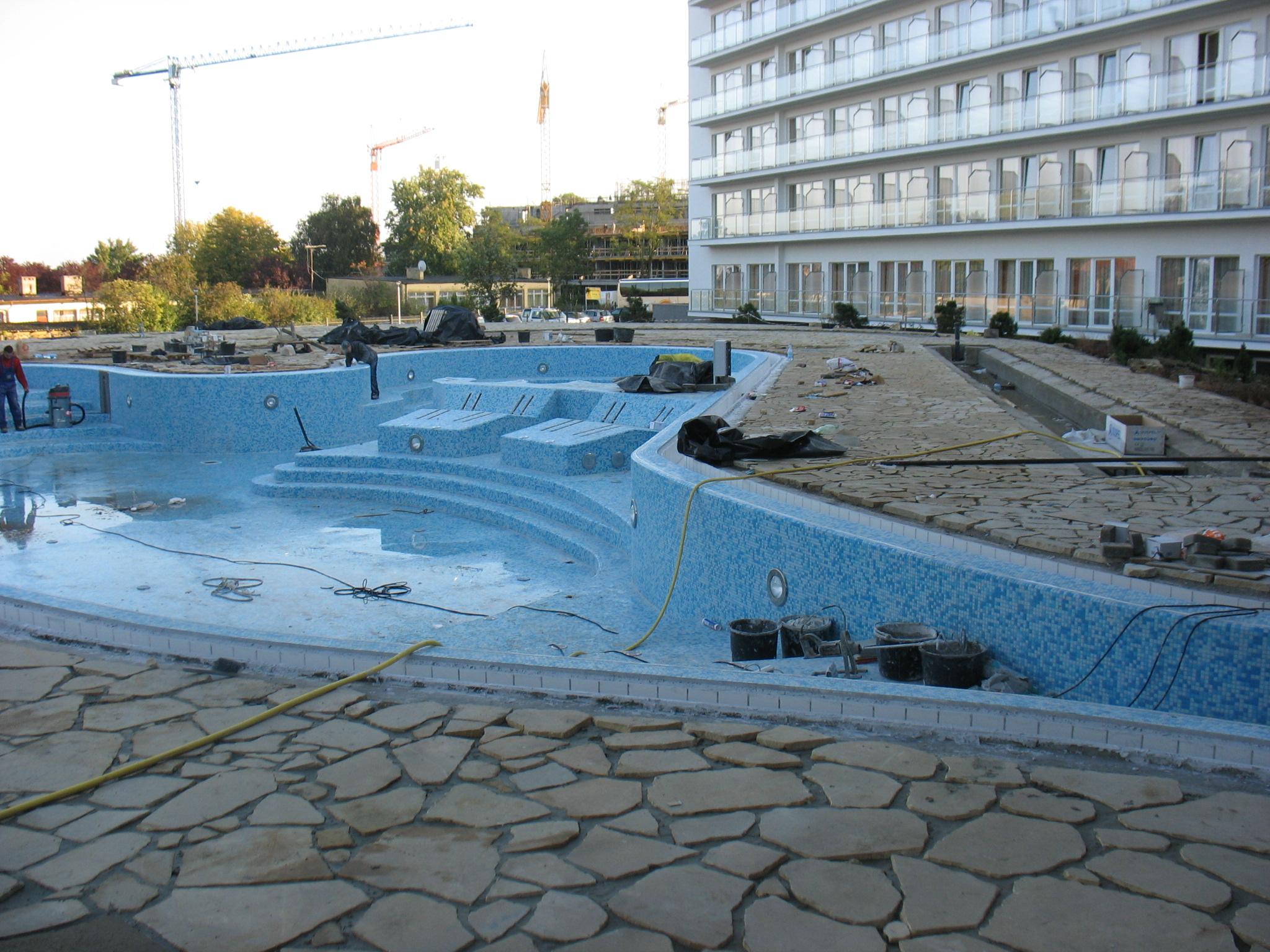 baseny ogrodowe cena Kołobrzeg