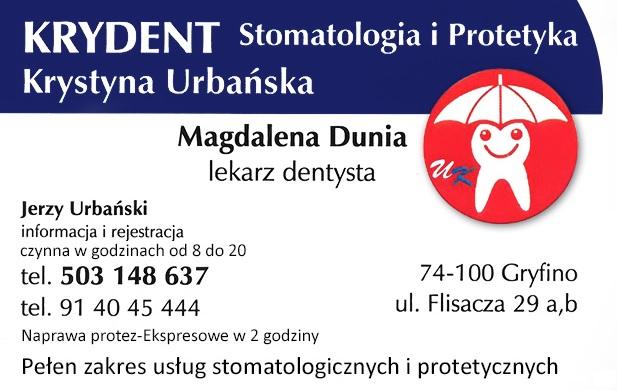 KRYDENT Stomatologia i Protetyka Krystyna Urbańska