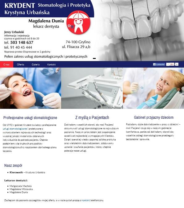 gabinet stomatologiczny Gryfino